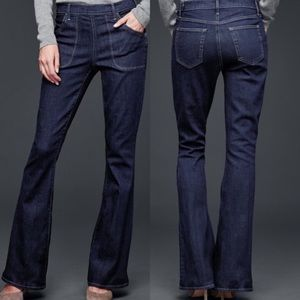 GAP RESOLUTION HIGH-RISE SKINNY FLARE JEANS